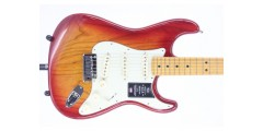 Fender American Ultra Stratocaster Maple FB Plasma Red Burst Serial# US1908