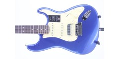 Fender American Ultra HSS Stratocaster Rosewood FB Cobra Blue Serial# US190