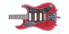 Fender Ltd Edition Jag Strat Candy Apple Red Serial# US18007434 6.65lbs