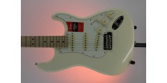 Fender American Professional Stratocaster Maple FB Olympic White Serial#US1
