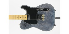 Fender Rarities Quilt Maple Top Telecaster Maple Neck Blue Cloud Serial# Le