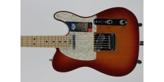 Fender American Elite Telecaster Maple Fingerboard Aged Cherry Burst