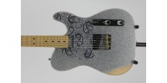 Fender Fender Brad Paisley Road Worn Telecaster Silver Sparkle With Bag