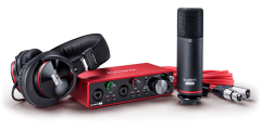 Focusrite Home USA - Scarlett 2i2 Studio 3G Digital interface with included