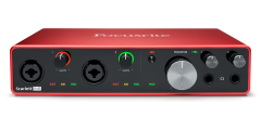 Focusrite Home USA - Scarlett 8i6 3rd Gen USB Digital interface