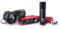 Focusrite Home USA - Scarlett Solo Studio 3G Digital interface with ac..