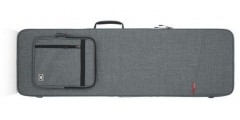 Gator GTR-BASS-GRY Transit Series Bass Guitar Case in Light Grey