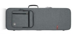 Gator GTR-ELECTRIC-GRY Transit Series Electric Guitar Case in Lt Grey