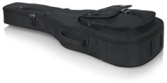 Gator GT-ACOUSTIC-BLK Transit Acoustic Guitar Bag Charcoal