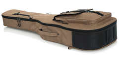 Gator GT-ACOUSTIC-TAN Transit Acoustic Guitar Bag Tan