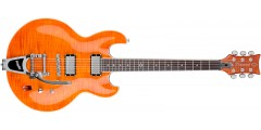 DBZ Diamond IMFMBG3-TBO Imperial Bigsby Electric Guitar Trans Orange