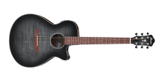 Ibanez AEG70TCH AE Series Acoustic Electric Guitar Trans Charcoal Burst