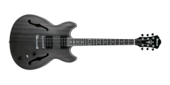 Ibanez AS53TKF Electric Guitar Artcore Transparent Black Flat