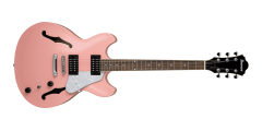 Ibanez AS63CRP AS Artore Vibrante 6 String Electric Guitar Coral Pink