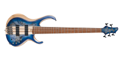 Ibanez BTB845CBL Standard 5 String Electric Bass Cerulean Blue Burst..