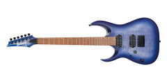 Ibanez RGA42FML Left Handed Electric Guitar Flat Blue Lagoon Burst..