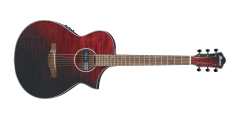 Ibanez AEWC32FMRSF Aewc Thinline  Acoustic Electric Guitar