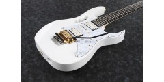 Ibanez JEM7VPWH Steve Vai Signature 6 String Electric Guitar w/Bag - White