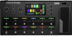 HeadRush Pedalboard Guitar Multi-Effects Processor with Touch Display..