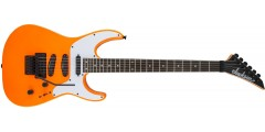 Demo - Jackson X Series Soloist SL4X Rosewood Fingerboard Neon Orange