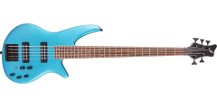 Jackson X Series Spectra Bass SBX V Laurel Fingerboard Electric Blue