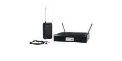 Shure BLX14 Wireless Microphone System with Omni Lapel and Body Pack Transm