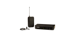 Shure BLX14 Wireless Microphone System with Cardioid Lapel and Body Pack Tr