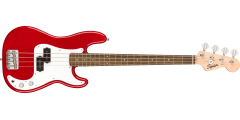 Squier by Fender Mini P Bass Laurel Fingerboard Dakota Red