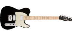 Squier by Fender Contemporary Telecaster HH Maple Fingerboard Black Metalli