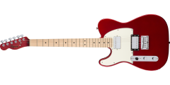 Fender Squier Contemporary Telecaster HH Left Handed Maple Fingerboard..