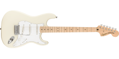 Squier by Fender Affinity Stratocaster Electric Guitar Olympic White
