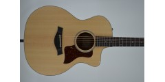 Taylor 214CE Black Limba LTD Acoustic Electric Cutaway Guitar Serial #22030
