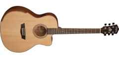Washburn WCG15CE Grand Auditorium Electric Select Solid Spruce Top