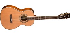 Washburn WP11SNS Parlor Solid Cedar Top with Mahogany Back-sides- Natural S