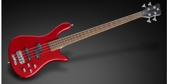 Warwick Streamer LX 4 String Bass Guitar Burgundy Red with Bag
