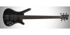 Warwick Rock Bass Corvette 5 String Bass Guitar Black Oil Finish