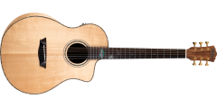 Washburn BTSC56SCE-D Bella Tono Allure SC56S with Solid Spruce Top