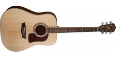 Demo - Washburn HD10S-O Heritage Dreadnought Solid Sitka Spruse top