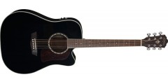 Demo - Washburn HD10SCEB-O Heritage Series Dreadnought Cutaway Acoustic Ele