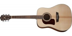 Washburn HD10SLH-O Left Handed Heritage Series Acoustic Guitar with Solid S