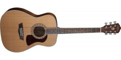 Washburn HF11S Heritage Series Folk Solid Cedar top with Mahogany back-side