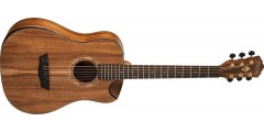 Washburn WCGM55K Grand Auditorium Acoustic Guitar Comfort Beveled Koa Top B