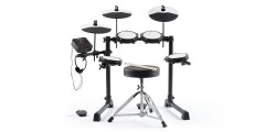 Alesis E Drum Total 8 Piece Electronic Drum Kit with Throne Sticks & Headph