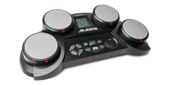 Alesis 4 piece tabletop drum pad with 70 voices, 50 play along songs, and g
