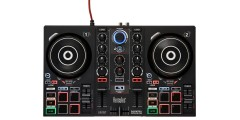 Hercules DJControl Inpulse 200 controller with included DJUCED software