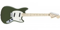 Fender Mustang Electric Guitar Maple Fingerboard Olive