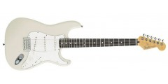 Fender  Standard  Stratocaster  Arctic  White  with  Rosewood  Fretboard