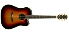 Fender USA Custom Shop Pro TPD-2CE All Solid Dreadnought Acoustic Electric