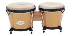 Toca Players Series 2100 Bongos Natural Wood Finish