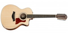 Taylor 254ce-DLX Grand Auditorium 12 String Acoustic Electric Guitar with G